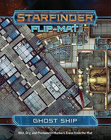 Starfinder Flip-Mat: Ghost Ship: Amazon.es: Juguetes y juegos