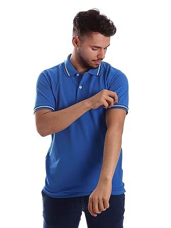 Key up 2Q70G 0001 Polo Hombre Azul XXL: Amazon.es: Ropa y accesorios