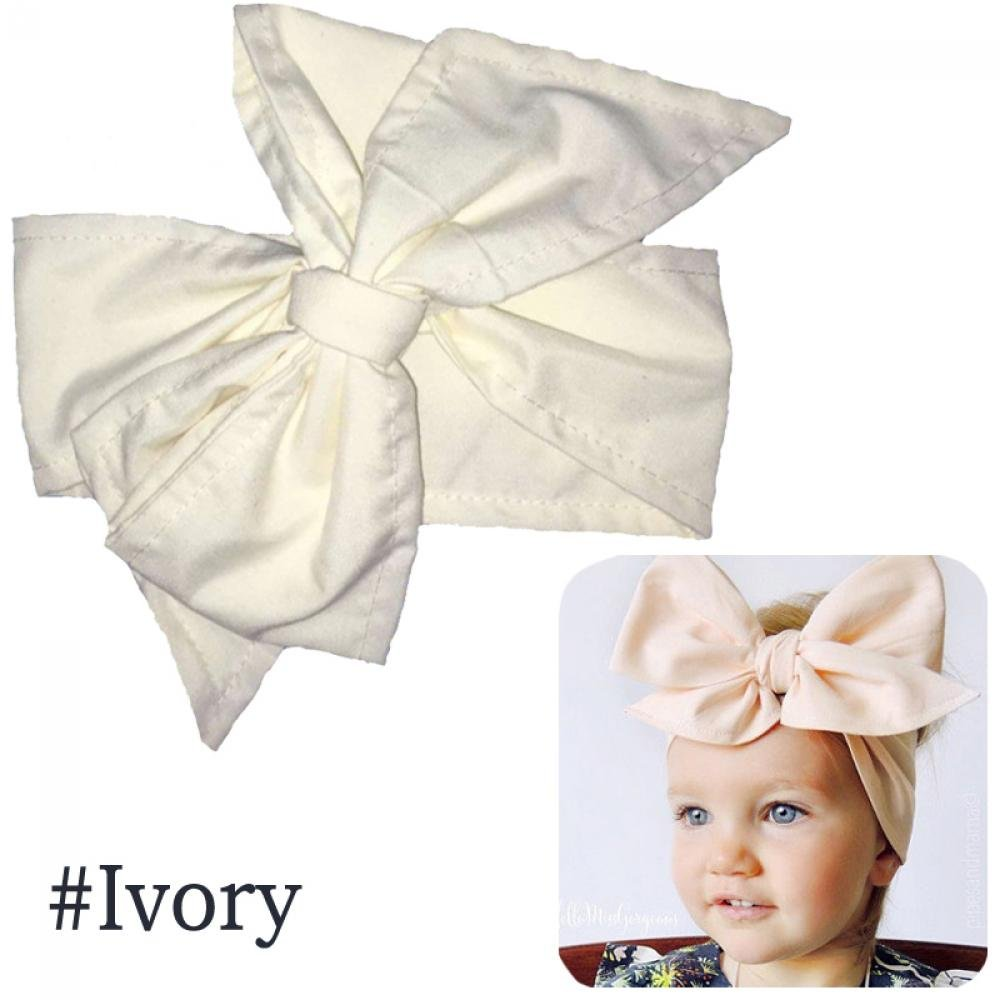 Baby & Toddler Clothing Baby Infant Rabbit Ears Head Wrap Turban Big BowKnot Headband Hairband