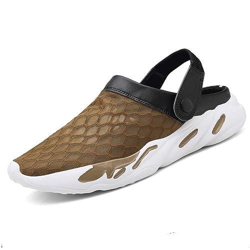 5d804dc081b Zuecos Hombre Mujeres Playa Respirable Zapatos