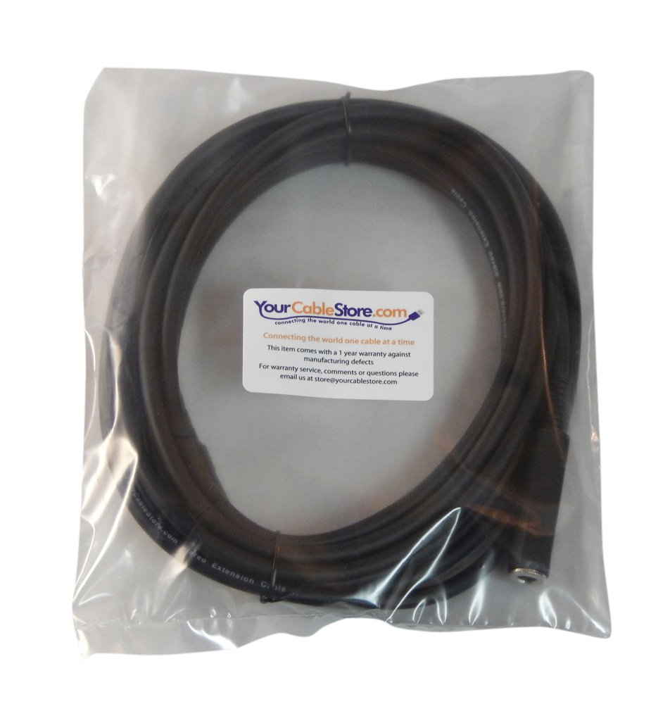 Your Cable Store 50 Foot 1//4 Inch Stereo Headphone Extension Cable