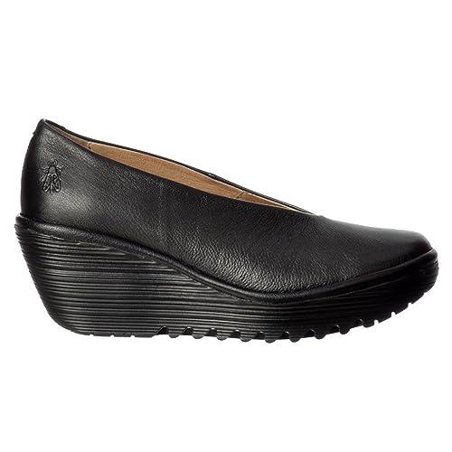 Para Fly De Zapatos Yaz London es Tacón Y Amazon Mujer awqwSXOr