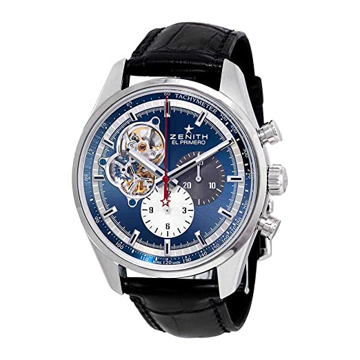 Zenith El Primero Chronomaster 1969 Chronograph - Reloj automático para hombre 03.2040.4061/52.C700: Amazon.es: Relojes