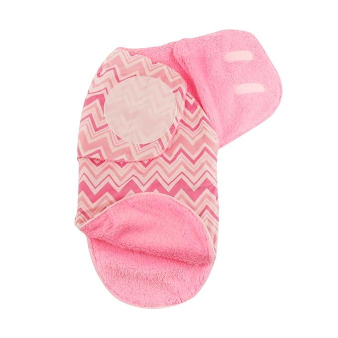 Mantas de Bebé Saco de Dormir Swaddle Blanket Dormir Bebé de Franela Confortable 0-3 Meses: Amazon.es: Ropa y accesorios