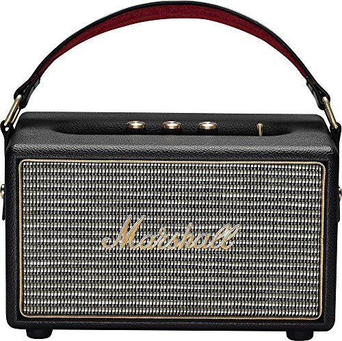 Marshall Kilburn Portable Wireless Bluetooth Speaker - Black (Certified Refurbished)