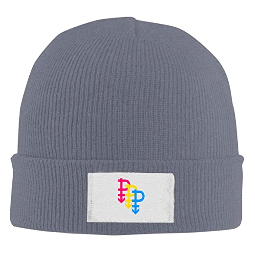 Amazon.com  Amayc Pansexual Definition Fashion Knitted Hats Beanies ... 1f9b0749b2c