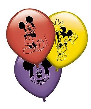 Verbetena, 014000617, pack 8 globos Mickey Mouse, Disney ...