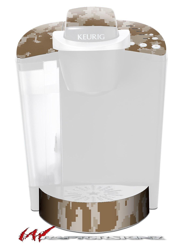 wraptorcamoデジタル迷彩Desert – デカールスタイルビニールスキンFits Keurig k40 Eliteコーヒーメーカー( Keurig Not Included )   B01D6FLGY4