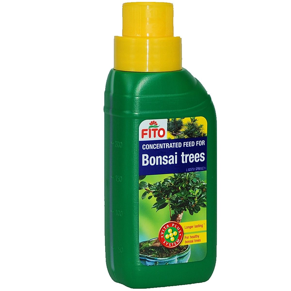 Bonsai Tree Feed Liquid Bottles for All Trees Long Shelf Life Concentrated Feed 250ml FITO