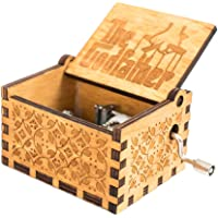 Spieldose La casa de papel Musikdose mit Handkurbel Bella ciao Qualitativ hochwertige Spieluhr