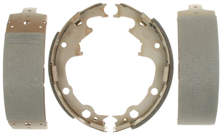 ACDelco 14538B Advantage Bonded Rear Brake Shoe Set by ACDelco