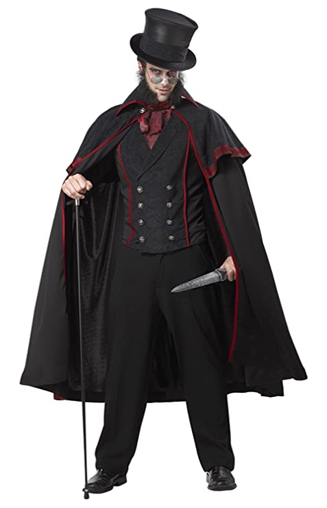 Disfraz Jack el Destripador hombre M: Amazon.es: Juguetes y ...