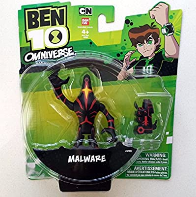 Ben 10 Omniverse Malware Action Figure With Detachable Arm Amazon Sg Toys Games