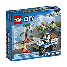 LEGO 6174382 City Police Starter Set 60136 Building Kit
