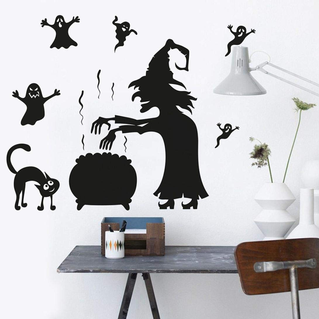 Painting Supplies & Wall Treatments Popular Ancient Lamp Cats And Birds Wall Sticker Wall Mural Home Decor Room Kids Decals Wallpaper With The Most Up-To-Date Equipment And Techniques Wallpapers