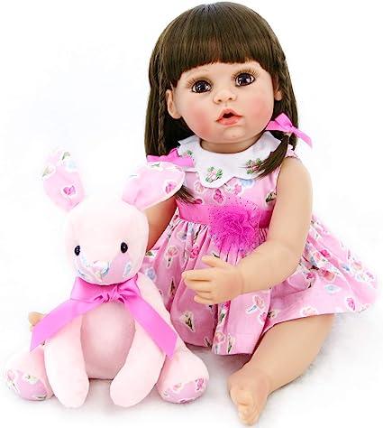 "CHERISH DOLLS REBORN DOLL BABY GIRL APRIL REALISTIC 18/"" REAL LIFELIKE CHILDS"
