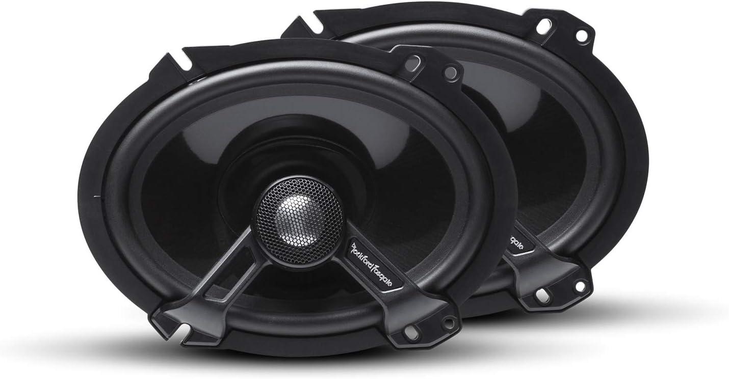 """Rockford Fosgate T1682 Power 6""""x8"""" 2-Way Full-Range Speaker (Pair)"""