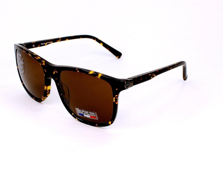 Amazon.com: Vuarnet VL 1518 0002 (Havana with Brown lenses ...