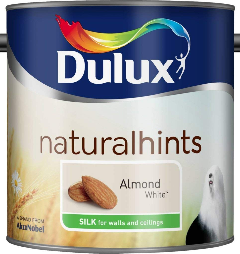 Dulux 500007 Du Silk Paint, 2.5 L - Goose Down AkzoNobel