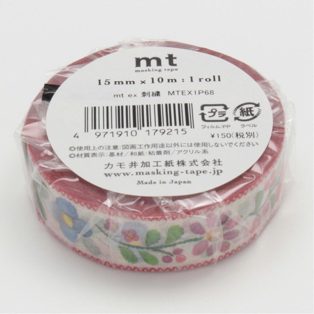 MT Washi Ruban adh/ésif de masquage Littler Fleurs Jardin 15/mm x 10/m Mtex1p101