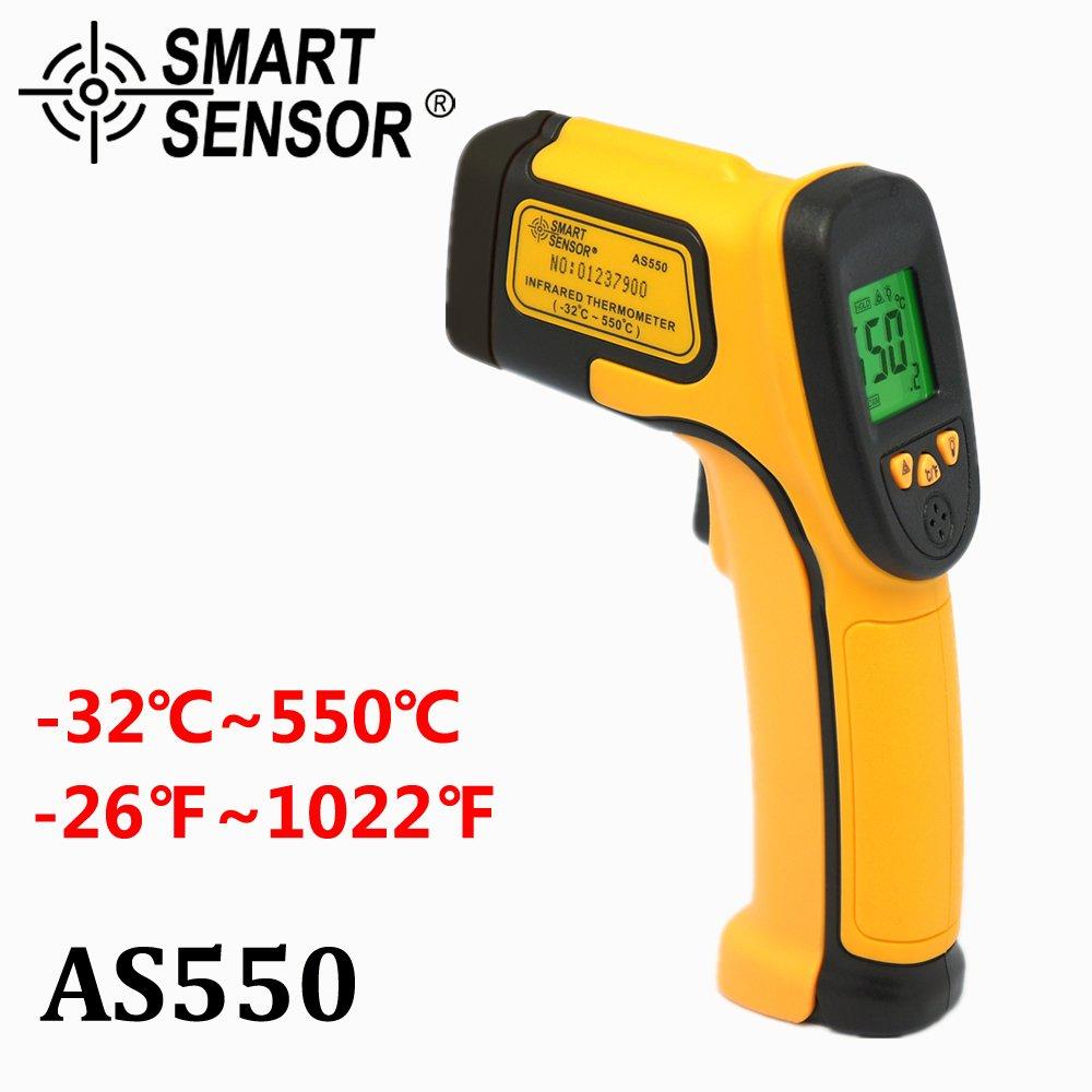 Infrared IR Thermometer Pro 50℉~600℃ Temp Meter Gun Non-contact Digital Laser