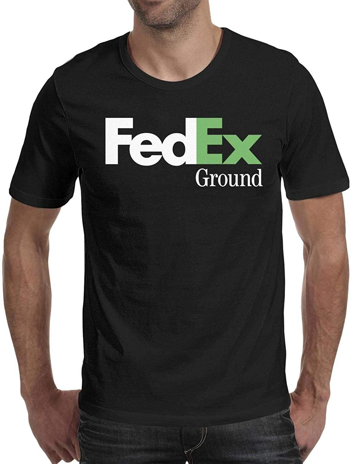 Mens -Ground-Violet-Green-Logo-Symbol-Black O-Neck Tee T Shirts Cotton Jersey