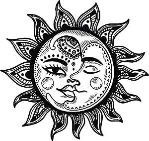 Amazon.com: Divine Designs Pretty Black and White Boho ...