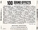 100 Sound Effects: The Ultimate Collection Volume 2 [AUDIO CD]