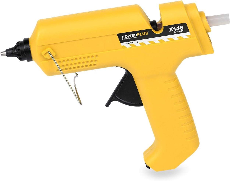 POWERPLUS POWX146 POWX146-Pistola de pegamento 25w