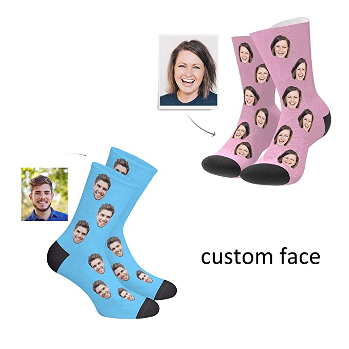 top-rated fashion best quality select for authentic Custom Face Socks Turn your Face Picture into Custom Socks Unisex