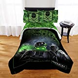 Star Wars Rogue One Kids 5-Piece FULL Size Bed in a Bag Bedding Set with BONUS Glade Room Spray Air Freshener