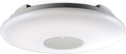lámpara de techo moderna con mando a distancia LED Ø40cm 22W ...