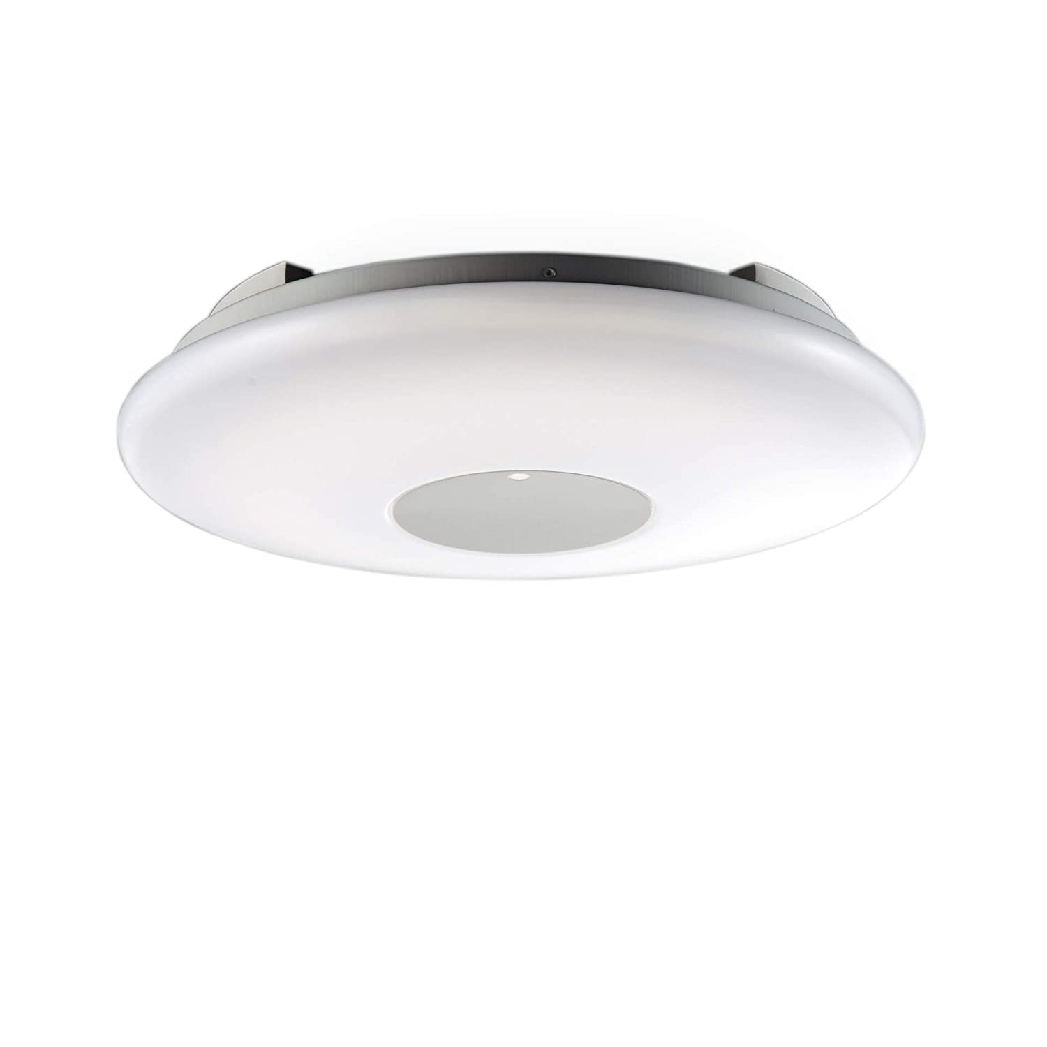 Round led ceiling light flush mount light kitchen light fitting fitting for living room 22w i 3 000 6 000 kelvin remote control dimmable