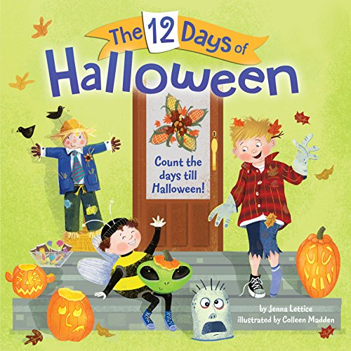 The 12 Days of Halloween (Pictureback(R)) (October Halloween Song)