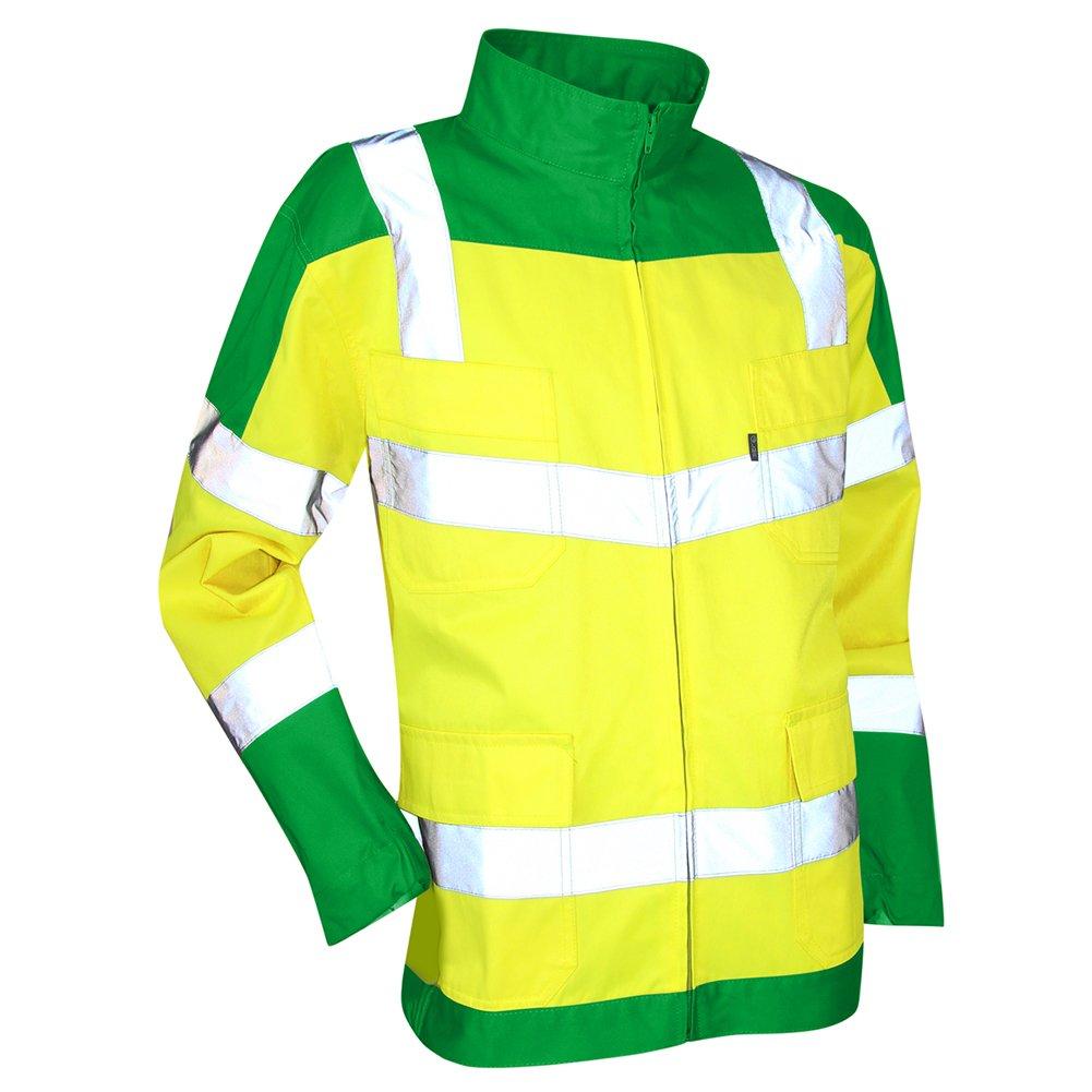 LMA 2115 emergenza Giubbotto bicolore alta visibilità , Verde/Giallo Fluo, 5 Lebeurre 2115 URGENCE