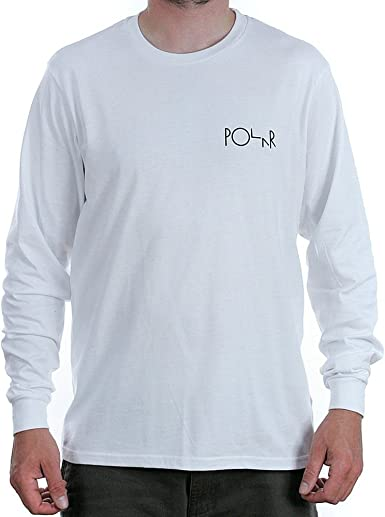 Polar Skate Co. - Camiseta - para hombre blanco blanco large: Amazon.es: Ropa y accesorios
