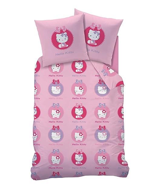 Juego de cama funda nórdica de Hello Kitty Agathe Pink 140 x ...