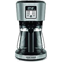 Cafetera Programable Black + Decker de 12 Tazas, CM1231S-LA