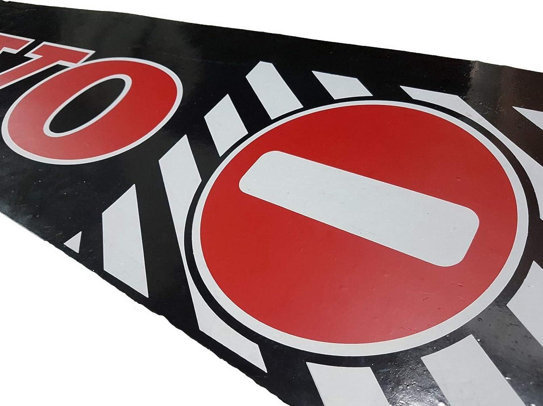 Anh/änger Verkehrsschilder mit Aufschrift Schmutzf/änger 1 St/ück Strapazierf/ähige UV-Gummi-Schutzbleche f/ür den R/ücken f/ür LKW 239 x 35 cm