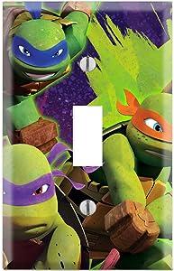 Ninja Turtles Decorative Single Toggle Light Switch Wall Plate Cover