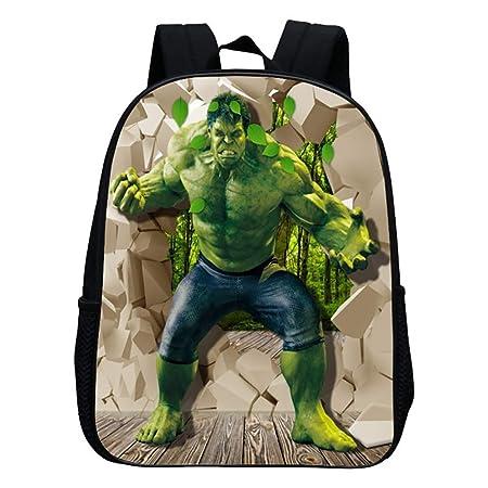 xiaomin Mochila para NiñOs, Hulk 2 A 6 AñOs De Edad, Mochila ...