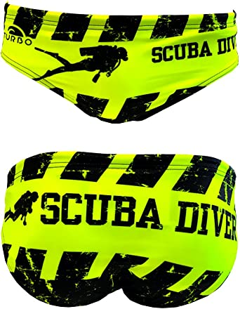 Turbo - Bañador Slip Scuba Diver de Waterpolo Competicion Natación y Triatlón Patrón de Ajuste cómodo: Amazon.es: Ropa y accesorios
