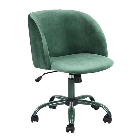 Sedie Da Ufficio Verde.Aingoo Sedia Da Ufficio In Velluto Sedia Da Ufficio Poltrona In