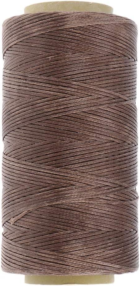 SUPVOX Hilo de coser cuero Costura a mano Cordón de costura Herramientas de cuero Costura Artesanal Línea encerada: Amazon.es: Hogar