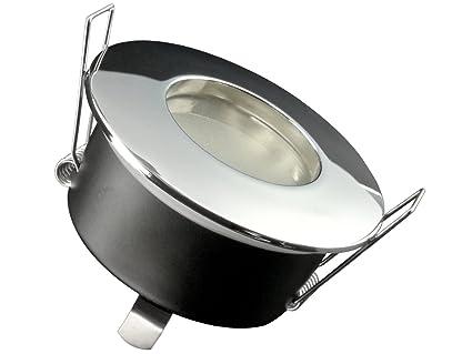 LED Einbau-Strahler für Bad, [Feuchtraum IP65], Einbau-Leuchte RW-1 ...