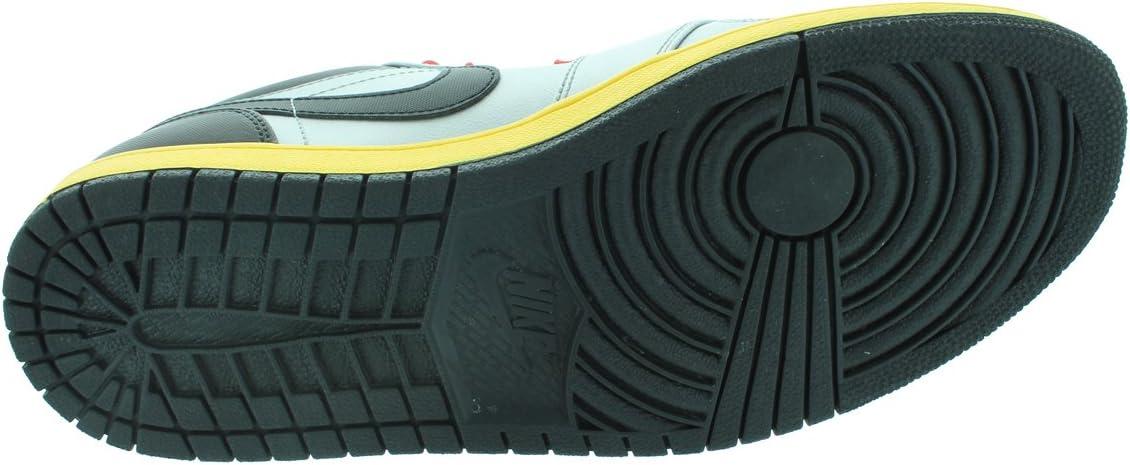 Jordan Nike Air 1 Low Mens Basketball Shoes 553558-023 Metallic Silver 10.5 M US