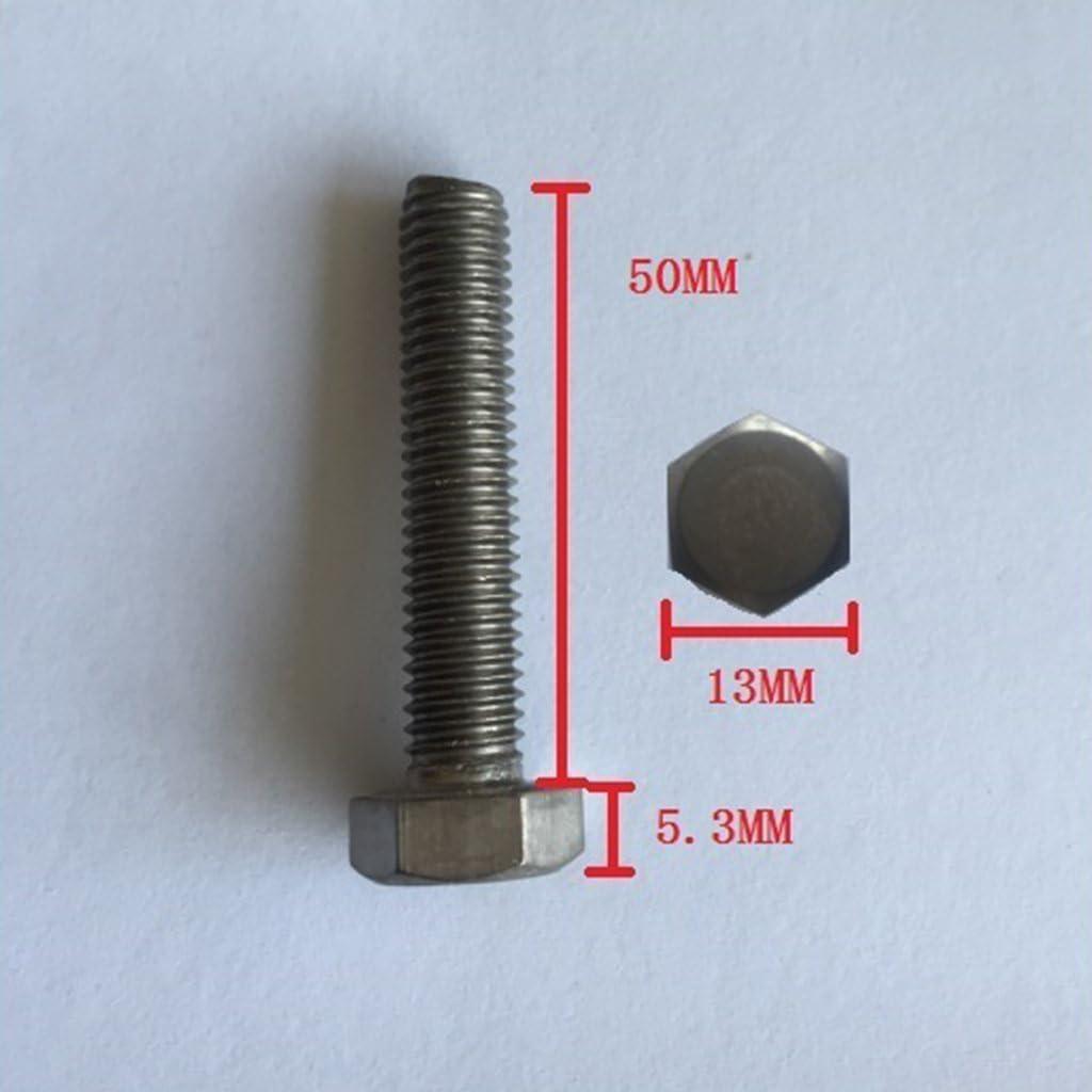 Sharplace Vis 10x Bouton /à Noyau en Acier Inoxydable Prise /à T/ête Hexagonale Outil M6x15
