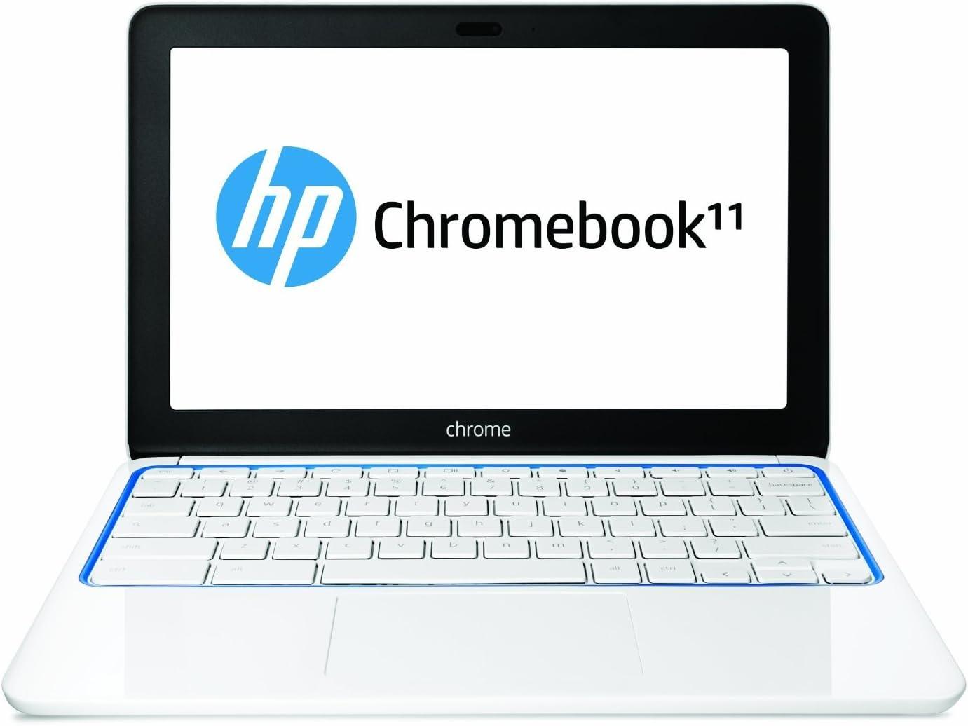"""HP Chromebook 11 Samsung Exynos 5250 1.70GHz, 2GB RAM, 16GB eMMC, 11.6"""" IPS UMA, No Optical, 802.11a/b/g/n, Bluetooth, Webcam, 30 Wh Li-Polymer"""