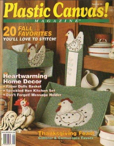 Plastic Canvas Magazine Number 16 September-October