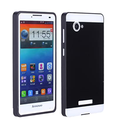 best website 6aa51 8ebe0 Tip-top? Lenovo A880 Case, Aluminum Bumper Frame Case with Acrylic ...
